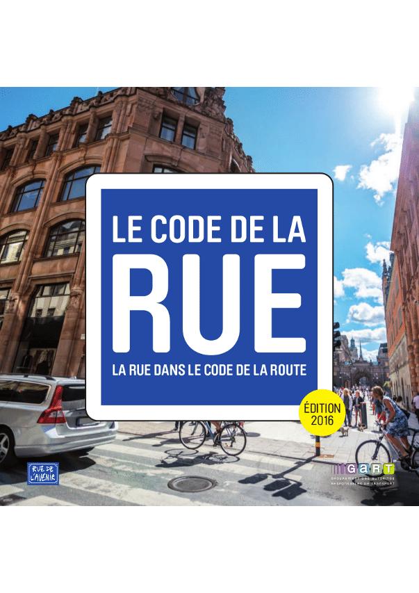 Code de la rue 2016