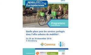 Quelle place pour les services partagés dans l'offre urbaine de mobilité ?