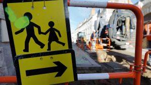 Fiche Cerema Piétons et chantiers urbains : Obligations, préconisations, mise en œuvre