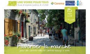 Présentations de la journée UVT Favoriser la marche du 15/11/18 à La Rochelle