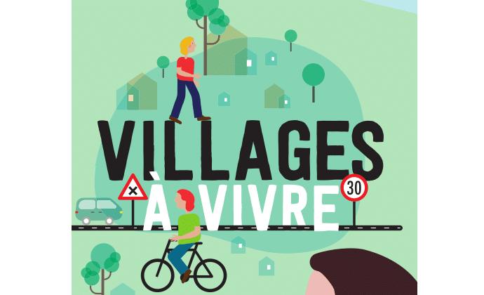 Poster Villages à vivre
