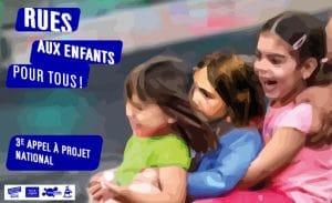Lancement du 3e appel à projet Rues aux enfants, rues pour tous