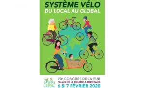 20e Congrès de la FUB les 6 et 7 février 2020 à Bordeaux