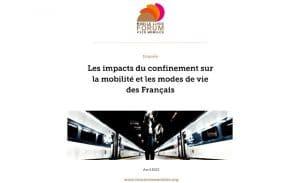 [Étude] Les impacts du confinement sur la mobilité et les modes de vie des français
