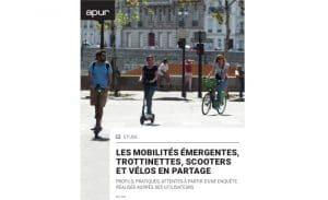 [Étude] Les mobilités émergentes, trottinettes, scooters et vélos en partage