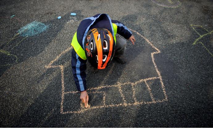 Les micro-rues aux enfants