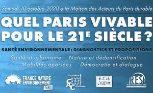 Quel Paris vivable pour le 21e siècle ?