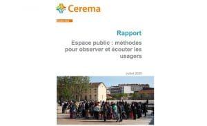 Espace public : méthodes pour observer et écouter les usagers – CEREMA Centre-Est