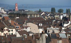 Neuchatel en Suisse prend des mesures pour diminuer la circulation